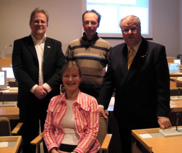 Vuosien 2009-2012 valtuustoryhmämme